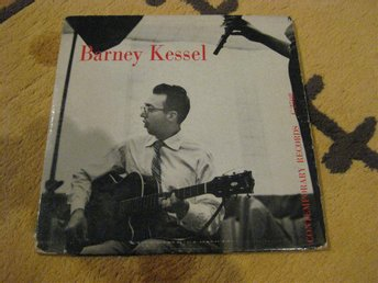 BARNEY KESSEL - 10'' på Contemporary Records C 2508 fr 1954