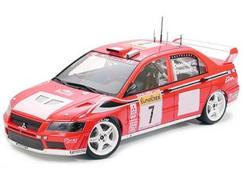 Tamiya 1/24 Lancer Evolution VII WRC - Lund - Tamiya 1/24 Lancer Evolution VII WRC - Lund