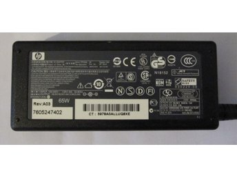 HP PA-1650-02HC serie PPP009L Nätadapter Laddare Power Supply