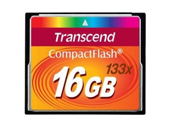 Transcend CompactFlash 16GB 133x