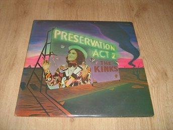UK original KINKS LP - Preservation, Act 2 - Uppsala - UK original KINKS LP - Preservation, Act 2 - Uppsala