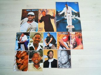 WILL SMITH - posters + reportage. 90-tal
