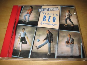 REO SPEEDWAGON - BEST FOOT FORWARD.  THE BEST OF.