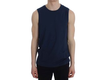 Ermanno Scervino - Blue Modal Stretch Sleeveless Underwear T-shirt