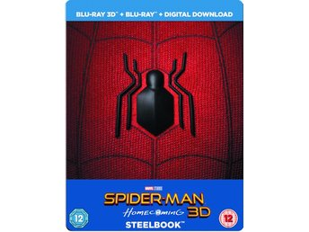 Spider-Man Homecoming 3D+2D - Limited Edition Steelbook + Resin Magnet + Comic