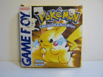 Nintendo Game boy Pokemon Yellow Special Pikatchu Edition
