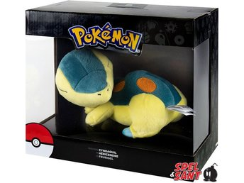 TOMY Pokemon 20cm Plush Sleeping Cyndaquil Figur