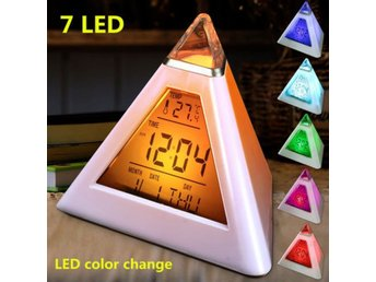 HOT 7 LED Changing Color Pyramid Tria...