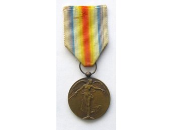 Inter-Allied Victory Medal (Belgien)  1914 - 1918