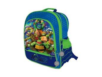 Klassisk turtles ryggsäck från 1991. (335843518) ᐈ Köp på Tradera e7d7d401fcdec
