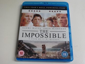 THE IMPOSSIBLE (Blu-ray) Naomi Watts