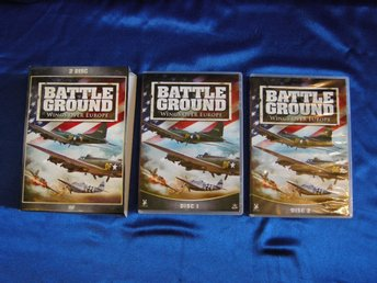 BATTLE GROUND. WINGS OVER EUROPE. 2 DISC DVD