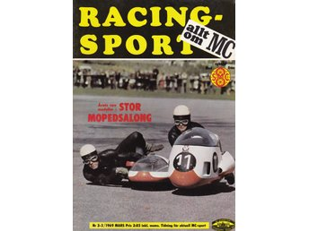 Allt Om Mc 1969-2-3 Isracing..MV 500..Moped Mopeder