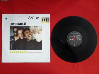 LONDONBEAT, FAILING IN LOVE AGAIN,  LP, LP-SKIVA