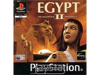 EGYPT 2 II – THE HELIOPOLIS PROPHECY (komplett) till Sony Playstation, PS1 - Göteborg - EGYPT 2 II – THE HELIOPOLIS PROPHECY (komplett) till Sony Playstation, PS1 - Göteborg