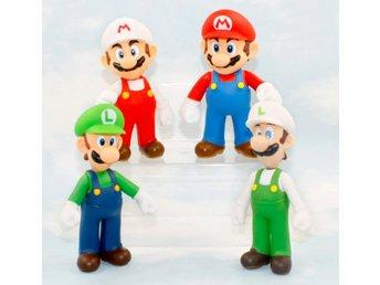 4st Super Mario Luigu Bros Action Figurer Leksaker Docka - Samut Prakan - 4st Super Mario Luigu Bros Action Figurer Leksaker Docka - Samut Prakan