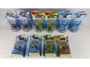 17 x Skylanders figurer 5 traps (Spyro's Adventure, Swap Force, Trap Team) - Bålsta - 17 x Skylanders figurer 5 traps (Spyro's Adventure, Swap Force, Trap Team) - Bålsta