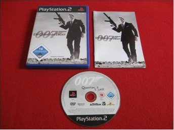 007 QUANTUM OF SOLACE till Playstation 2 PS2