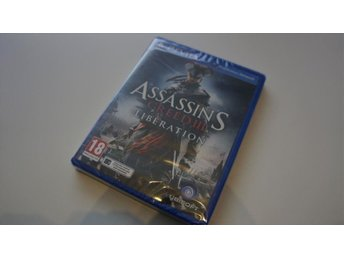 Assassins Creed III Liberation Playstation Vita   nytt inplastat