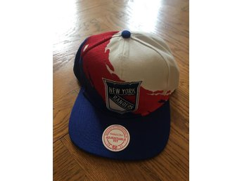 New York Rangers NHL Snapback Keps Mitchell & Ness M&N