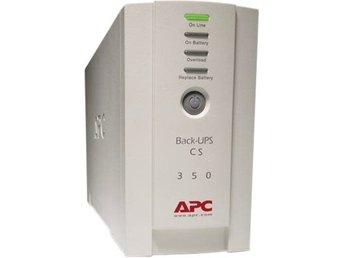 APC Back-UPS CS 350, 350 VA 120W 4 uttag tele/USB - Höganäs - APC Back-UPS CS 350, 350 VA 120W 4 uttag tele/USB - Höganäs