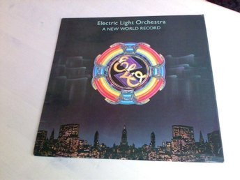 Electric Light Orchestra , ELO : NEW WORLD RECORD ( UK orig , Jeff Lynne )