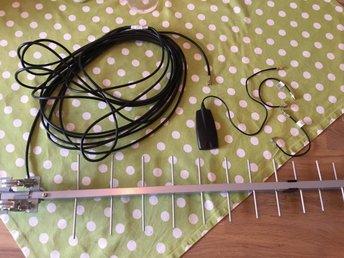 Extern antenn för GSM och 4G - Luleå - Extern antenn för GSM och 4G - Luleå