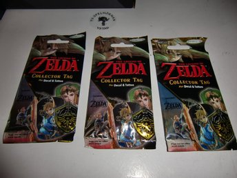 Legend of Zelda Collector Tag Fun Packs