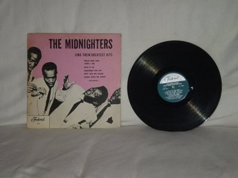 The Midnighters -  Their Greatest Hits           US PRESS   !! !!