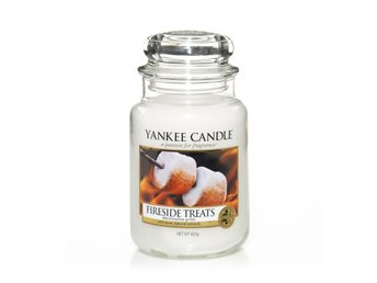 Yankee Candle Classic Large Jar Fireside Treats Candle 623g