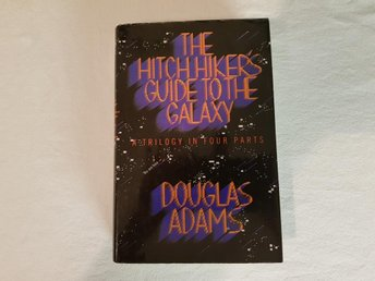 Douglas Adams The Hitchhikers Guide to the Galaxy Engelska
