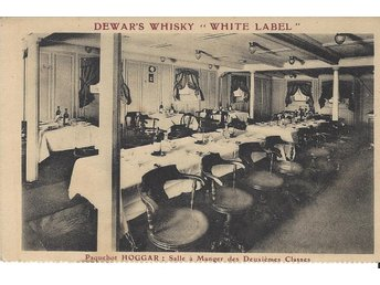 "French Liner "" HOGGAR "" 2nd class Diner Room"