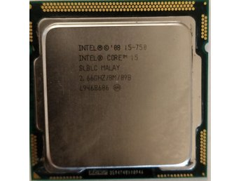 Intel Core i5-750 @ 2.67GHz LGA1156