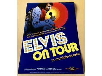 ELVIS ON TOUR 1972 PHOTO POSTER