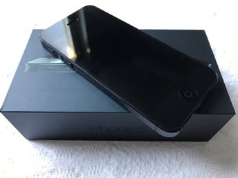 Apple iPhone 5 16 GB Svart.