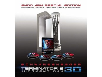 Terminator 2: Limited ENDO ARM [4K + Blu-ray 3D + CD] [2017] (OOP) 4-disc