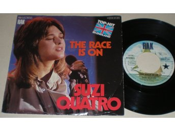 Suzi Quatro 45/PS The race is on 1978 M-
