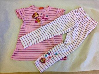 Paw Patrol Tshirt shorts med Valpflickan Skye. .. (342217811) ᐈ Köp ... 3db9cb1460f57