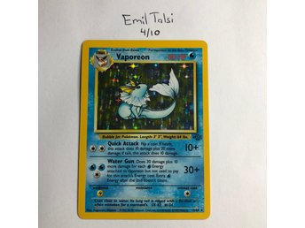 Pokemon Rare Holo Jungle Set Vaporeon 12//64 LIGHTLY PLAYED