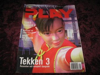 SUPER PLAY SEPTEMBER 1998 (TEKKEN 3 KOMPLETT TIPS GUIDE)
