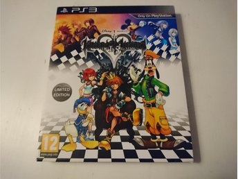 - Kingdom Hearts 1.5 HD Remix Limited Edition PS3 -
