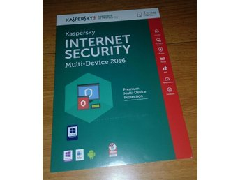 Kaspersky Internet Security 2016 Multi Device, 3 PC, 1 År
