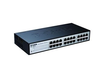 "D-Link 24-port 10/100 EasySmart Switch 19"" Rackmount"