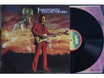 John Entwhistle – Too Late The Hero – LP - Norrahammar - John Entwhistle – Too Late The Hero – LP - Norrahammar