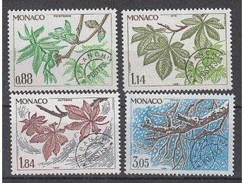 Monaco 1981. Mi. nr: 1460-63 ** - Njurunda - Monaco 1981. Mi. nr: 1460-63 ** - Njurunda