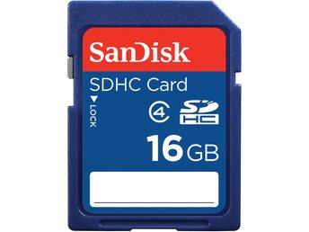 SanDisk SDHC Class 4 16GB - Kalmar - SanDisk SDHC Class 4 16GB - Kalmar