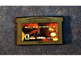 TV-SPEL   GAMEBOY ADVANCE   SPIDER MAN   2   ENGELSK TEXT  FINT SKICK