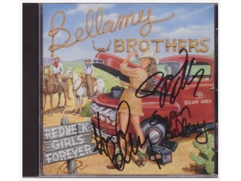 BELLAMY BROTHERS   REDNECK GIRLS FOREVER    SIGNERAD   CD