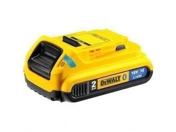 BATTERI DEWALT 18V 2AH XR LI-ION BLUETOOTH