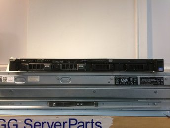 Dell Poweredge R320 E5-1410 32 GB PERC H310 2x1TB 1xPSU
